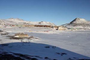 Scott's Hut and McMurdo