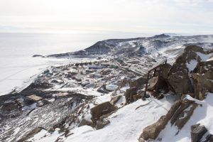 McMurdo station from Ob Hill